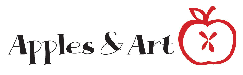 apple art logo